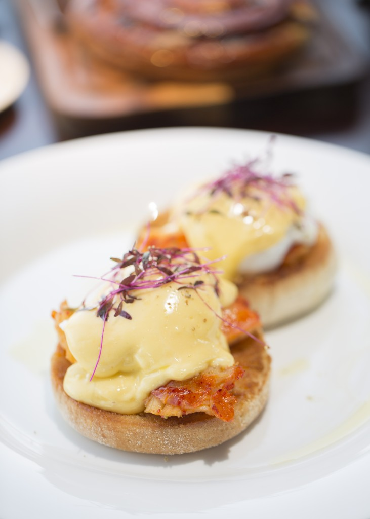 Mouth-watering Lobster Benedict at aqua shard