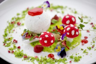 Dishes at Aqua Shard.Picture -  David Bebber