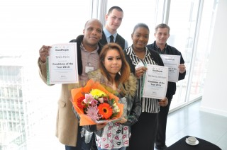 Monmon, Tesfa and some of the other Candidate Of The Year Finalists