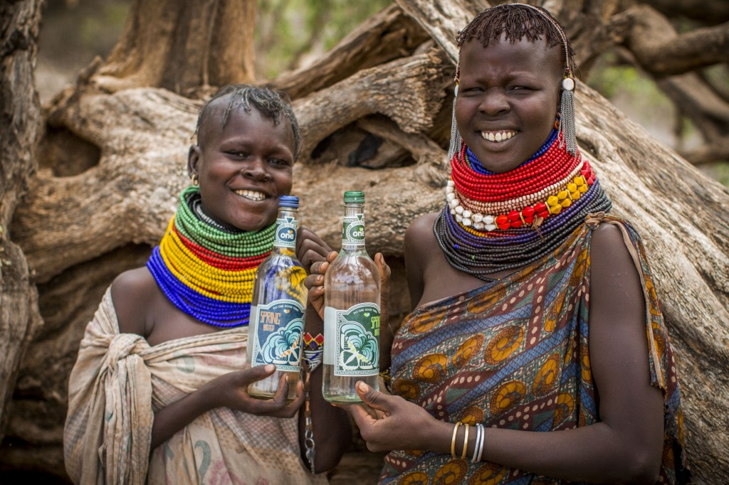 One Water now stocked at aqua shard benefits clean water projects