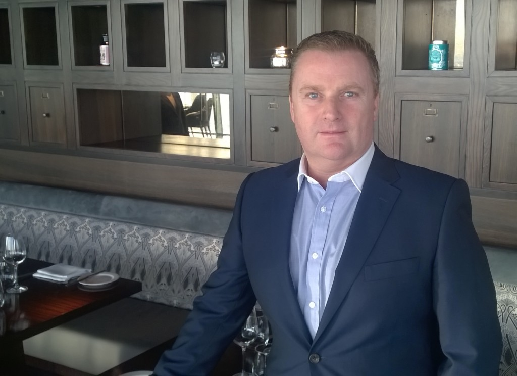 aqua shard General Manager John Wiltshire