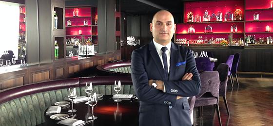 aqua shard restaurant manager Massimo Montone