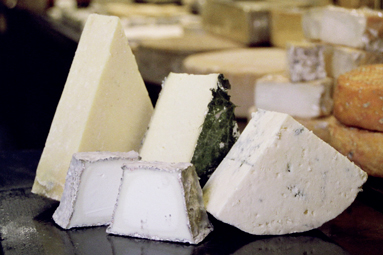 British cheeses from Neal's Yard Dairy