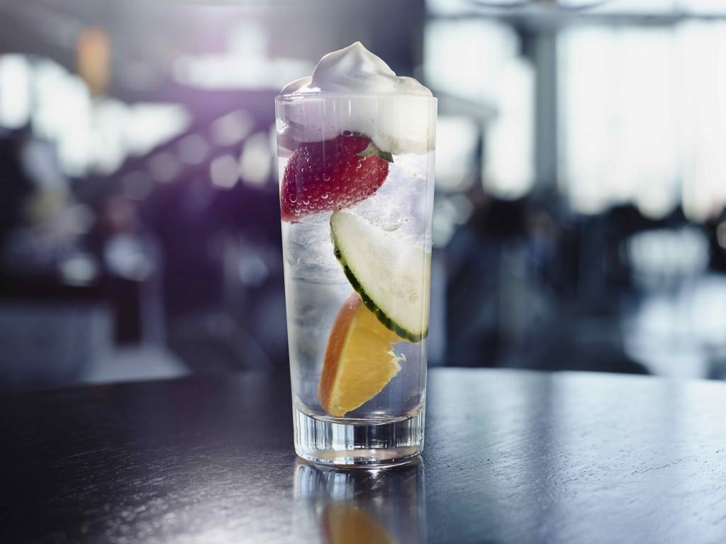 aqua shard's Pimms 31 cocktail