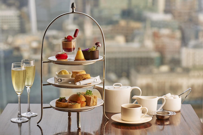 Our British Afternoon Tea | Aqua Shard